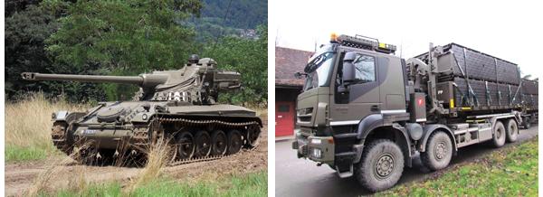 Milit�rfahrzeuge der Schweizer Armee von Urs Heller
