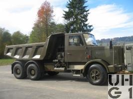 FBW 80-N 11,3 t 6x4 Muldenkipper