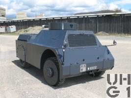 Mowag Panzerattrappe, Pz Attrw sch gl 4x4