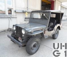 Willys Overland CJ-3A, Geländepersonenwagen 0,55 t, 4x4