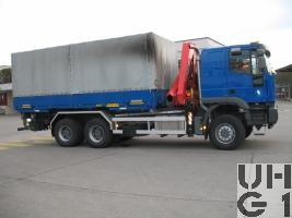 IVECO EuroTrakker MP 260E 44W/P Cursor 13, Lastw für WA 10 t Ladekran 6x6 gl für Hebebühne