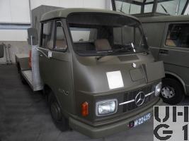 Mercedes Benz L 307, Sauerstoffpalettwagen leicht 4x2