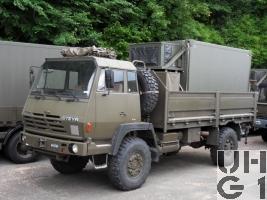 Steyr 1291.320 P43/M, Lastw Seilw 5,6 t 4x4 EAS