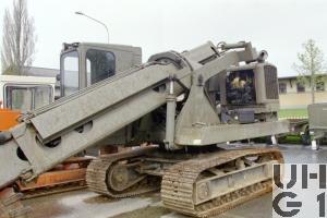 Gradall G 600 E, Bagger Teleskop 0,48m3 Rpe