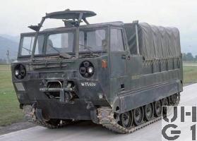 Raupentransportwagen 68, 5t Serie 2 mit Originalverdeck