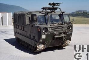 Raupentransportwagen 68, 5t Serie 2 mit Original Verdeck
