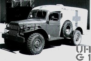 Dodge WC 54, Sanitätswagen 0,8 t 4x4