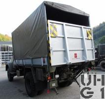 Saurer 2 DM, Lastw 4,5 t gl 4x4 mit Hebebühne