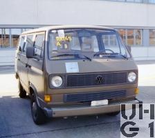 VW Transporter T3, Pw Kombi 9 Pl 4x2
