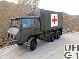 Steyr Puch Pinzgauer 712 T Sanw 4 Liegepl L gl 6x6