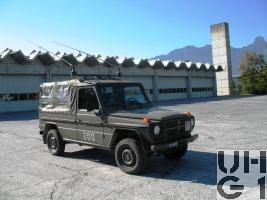 Steyr Puch 230 GE, Fkw Rel SE-235/m2 Verdeck 4x4 gl