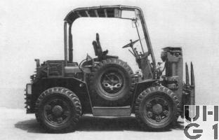 Steinbock DFG 2 SC, Gabelstapler 2t 4x4