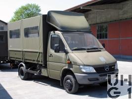 Mercedes Benz 413 CDI 4x4 Lastw L für WA 2,3 t mit WB L Verdeck 1,6 t/16 Pl Hess