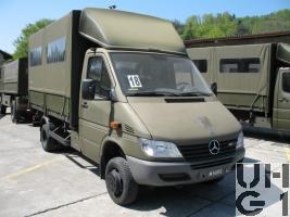 Mercedes Benz 413 CDI 4x4 Lastw L WA Verd 1,6 t/18Pl