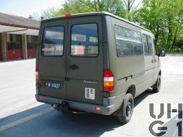 Mercedes Benz 313 CDI 4x4 Lieferwagen 1,1 t 10 Pl