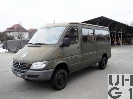Mercedes Benz 313 CDI, Lieferw 1 t 4x4