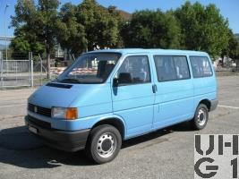 VW Typ 2 T4 Pw Kombi 9 Pl 4x2
