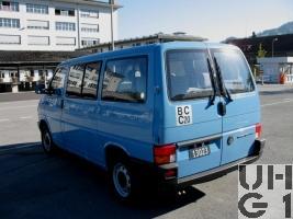 VW Transporter Typ 2 T4 2,5, Pw Kombi 0,9t 9Pl 4x2