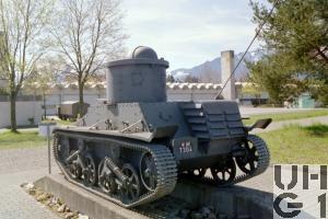 Panzerwagen 34/35, Vickers-Armstrong Light Tank Modell 1933/34
