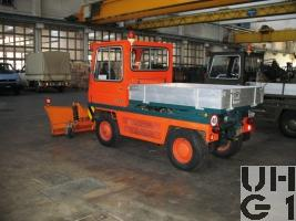 Bucher GT 1200 S Schneeräumungsfahrzeug leicht 76  4x4