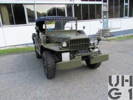 Dodge WC 57 Command Car, Kdow 0,75 t 4x4 (G502)