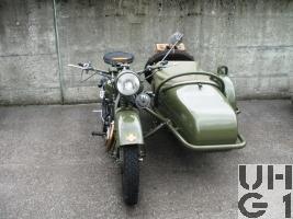 Motosacoche A 720 C, Seitenwagen Motorrad Typ 40 A