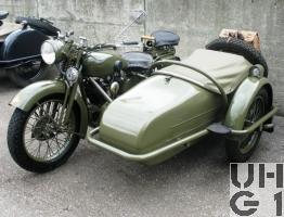 Motosacoche A 720 C Seitenwagen Motorrad Typ 40 A