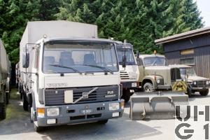 Volvo FL 614, Lastw 7 t 4x2