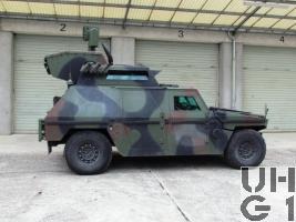 Mowag Eagle III, SKdt Fz INTAFF gl 4x4