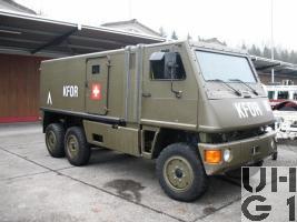 Bucher Duro, Lastw L gepz KA 1,5 t / 16 Pl 6x6