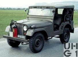 Willys Overland CJ-5 Anlasswagen L gl 4x4, Bild Armasuisse