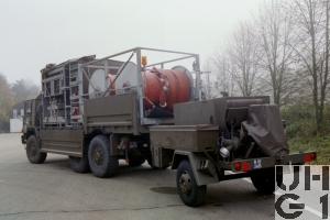 Saurer 10 DM Lastw 10 t gl 6x6 Für Sortiment Brandeinsatz