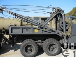 Diamond T 969A/B, Abschleppwagen 4 t, 6x6