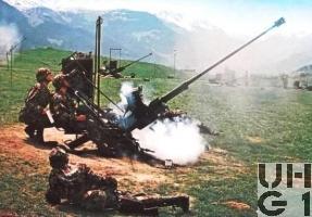 20 mm Fliegerabwehr Kanone Modell 1954