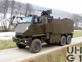 Mowag DURO IIIP, GMTF 11 Pl/2t 6x6