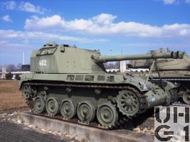 10,5 cm Selbstfahrhaubitze AMX 13, 10,5 sf Hb AMX