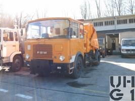 FBW L50V-E3-ST 41 Kehrfahrzeug AK 470 HB, Str Reinigungsw 79 sch 4x2