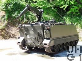 Kran Pz 63 M-113 A1 mit SE-412 / SE 235/m1+/m2