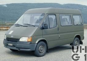 Ford Transit 120 CL, 4x2, Pw Kombi 9 Pl, Bild VBS