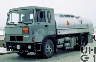 FBW 70V-E5A F 520, Tankw Trst 9100 l sch 4x2, Strassenzisterne 84