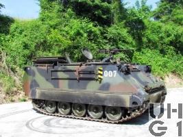 Mw Pz 64/91 M-113 A1 ab Jahr 2000 mit SE-235/m1