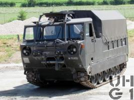 Raupentransportwagen 68, 5t Serie 2 mit modiviziertem Verdeck