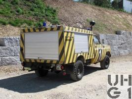 GMC K 3500  Löschw 79, L-Wasser 190 lt / Pulver 200 kg sch gl 4x4