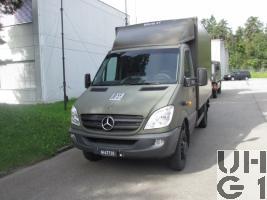 Mercedes Benz 516 CDI, Erstw L BE6 KT/PZ HB 95 4x4