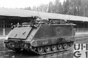 Spz 63 M-113 A1 Feuerleitpanzer 63, Bild VBS