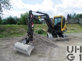 Volvo EC55B Pro Bagger GG 6,2 t Raupe