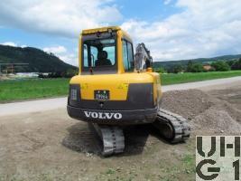 Volvo EC 55B Pro, Bagger GG 6,2 t Raupen