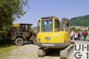 Volvo EC 55 Bagger GG 5 t Raupen