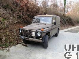 Steyr Puch 230 GE, Pw 0,8t 8Pl 4x4 gl