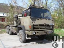 Steyr 1491.310/S37 Lastw/Sattelschl F WA Brue 95 sch gl 6x6